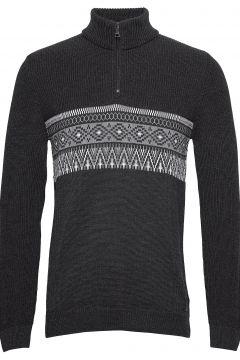 Steffen Knitwear Half Zip Jumpers Grau BRAX(114151808)