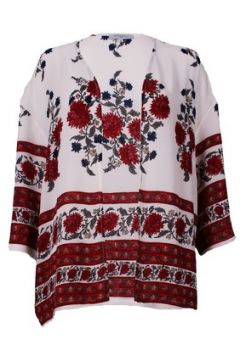 Gilet Mouvance Veste Fluide Kimono imprimé fleurs(115600839)