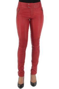 Pantalon Pallas Cuir Pantalon sélection en cuir ref_sof37618-rouge(115555610)