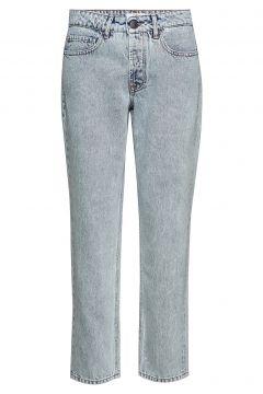 Terrence Tomboy Jean An Straight Jeans Hose Mit Geradem Bein Blau IBEN(116950870)