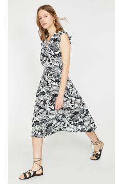 Koton Siyah Desenli Elbise(113982145)