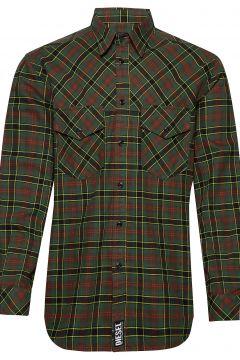 S-Tolstoj Shirt Hemd Casual Grün DIESEL MEN(114153278)