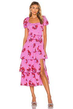 Платье миди lottie - LIKELY(115065149)