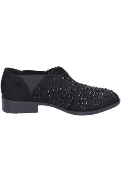 Chaussures Francescomilano slip on noir daim strass BX343(115442532)