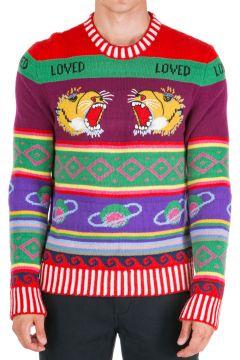 Men's crew neck neckline jumper sweater pullover(118299851)