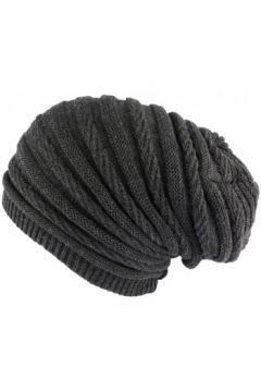 Bonnet Nyls Création Bonnet Rasta Long Gris Jack Nyls Creation(115464053)