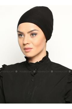 Bonnet without Tie - Black - Busra Anil(110343627)