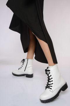 Shoes Time Beyaz Kadın Bot(124055454)