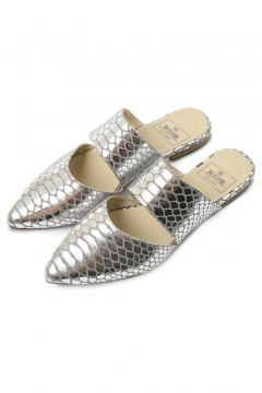 Rollbab Kadın Gümüş Silver Amarus Binary From Terlik(124972960)