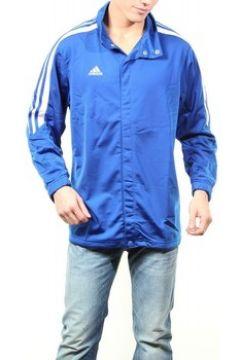 Sweat-shirt adidas Veste boutonnée Original Bleu(115460426)