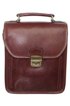 Sacoche Hexagona Sacoche bandoulière en cuir ref_xga33907-marron(115555345)