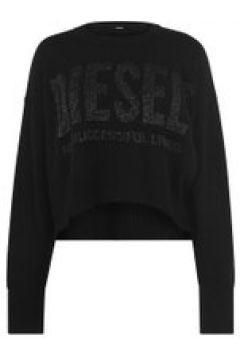 Diesel Lurex Knit Jumper - Black 9XX(108904310)