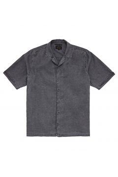Afends Mota Hemp Cuban Kurzarmhemd - Stone Black(111895959)