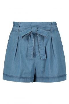 Paperbag Denim Shorts(111016600)