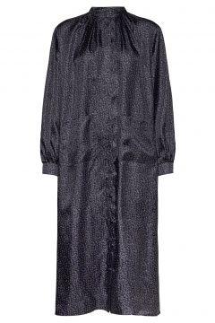 Mallie Dress Kleid Knielang Grau NUÉ NOTES(118370681)