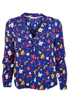 Chemise Tommy Jeans Chemise fluide bleu à motifs fleurs pour femme(115411313)