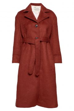 Lengthy Beaut Coat Wollmantel Mantel Rot ODD MOLLY(114155628)