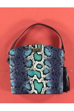 Blue - Shoulder Bags - Marjin(110338059)