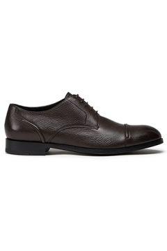 Zegna Erkek Kahverengi Deri Ayakkabı 7.5 UK(113465901)