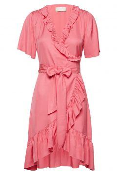 Synne Viscose Kleid Knielang Pink FALL WINTER SPRING SUMMER(114163553)