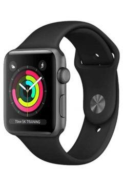Apple Watch Seri 3 42mm Uzay Grisi Alüminyum Kasa ve Siyah Spor Kordon -MTF32TU(122383490)