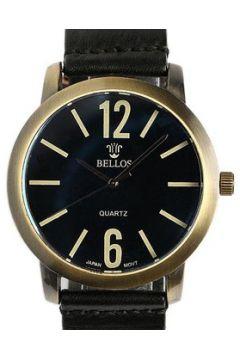 Montre Bellos Montre Bracelet Cuir Noir Playskin(88490791)