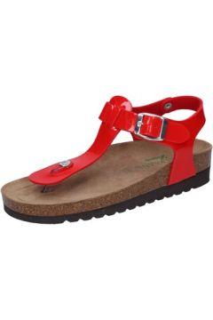 Sandales Susimoda WALKSAN sandales rouge cuir verni BY199(115400989)
