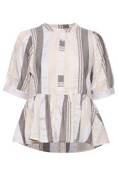 Arinakb Blouse Blouses Short-sleeved Creme KAREN BY SIMONSEN(114154336)