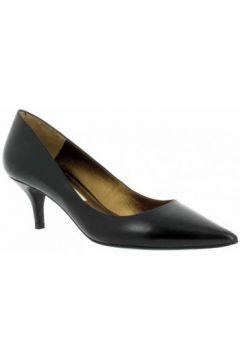 Chaussures escarpins Pura Lopez 675 veau Femme Noir(127958269)
