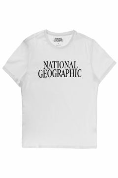 National Geographic Beyaz T-Shirt(115291733)