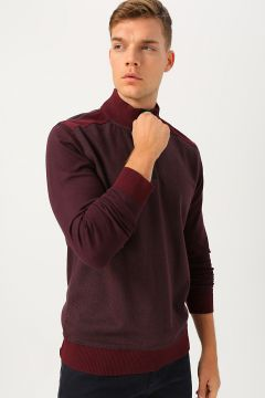 Cotton Bar Bordo Sweatshirt(113986647)