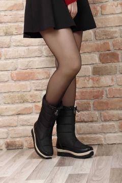 G.Ö.N Siyah Kadın Kar Botu(110916525)