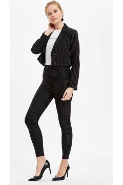 DeFacto Kadın Slim Fit Süs Cep Detaylı Tayt(125921983)