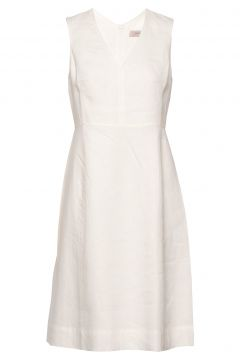 Dress Sleeveless Kleid Knielang Weiß NOA NOA(114164371)