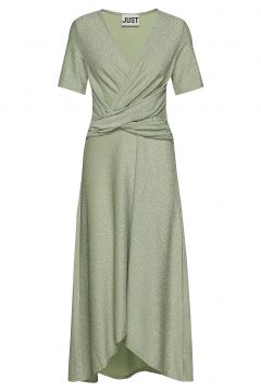 Utopio Dress Kleid Knielang Grün JUST FEMALE(114164826)