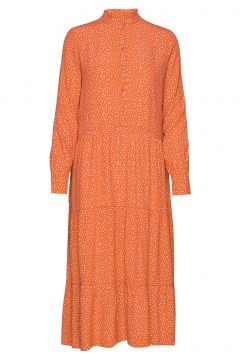 Coleen Kleid Knielang Orange SIX AMES(108839198)