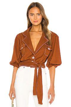 Блузка linen - PatBO(115073305)