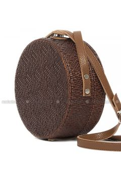 Brown - Shoulder Bags - Bagmori(110316762)