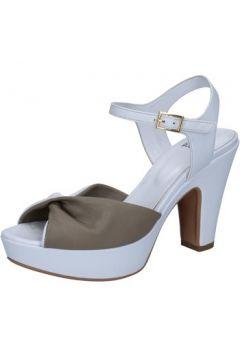Sandales Silvia Rossini sandales blanc cuir beige BZ577(115398876)