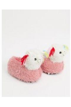 Loungeable - Pantofole rosa a forma di lama(123890123)