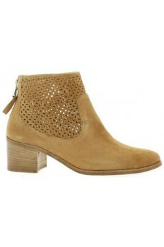 Boots Giancarlo Gian carlo Boots cuir velours(98529399)