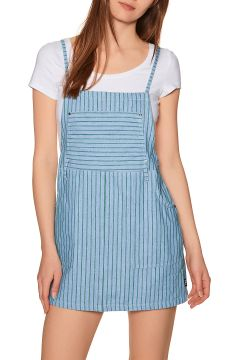 RVCA River Kleid - Green Stripe(113604417)