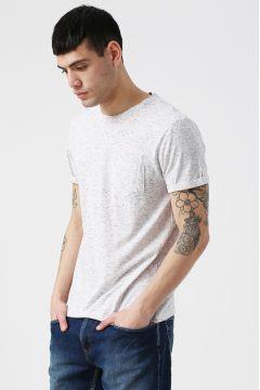 Koton Cepli Bisiklet Yaka T-Shirt(118428980)