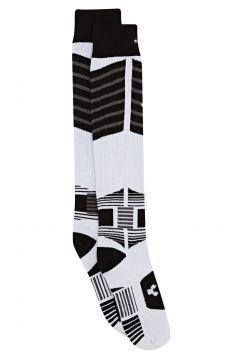 Thirty Two Asi Bamboo Team Snow Socks - White Light Grey(115309720)