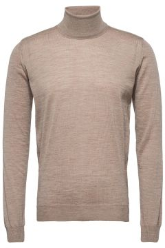 Cole Rollneck Knitwear Turtlenecks Beige OSCAR JACOBSON(119232566)