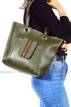 Green - Shoulder Bags - Vip Moda(110339395)
