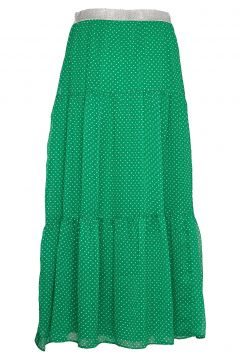Bonny Skirt Knielanges Kleid Grün LOLLYS LAUNDRY(109242980)