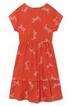 Kleid Midi aus Bio-Baumwolle Hund(113869877)