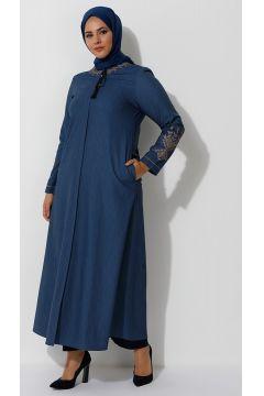Abaya Grande Taille TEKBİR Bleu(125454048)