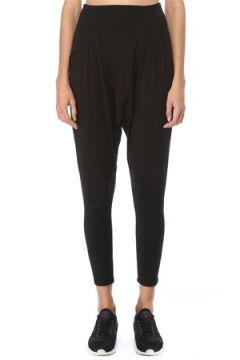 Lando Studio Kadın Harem Siyah Organik Pamuklu Pantolon S EU(123342079)